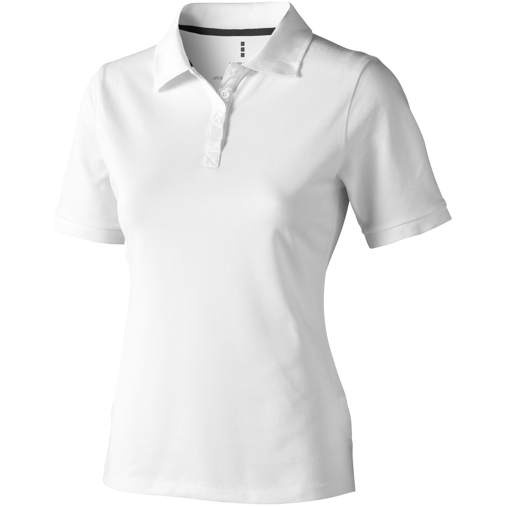f45f766763 Elevate Calgary női galléros póló, fehér (Galléros póló, 90-100% pamut