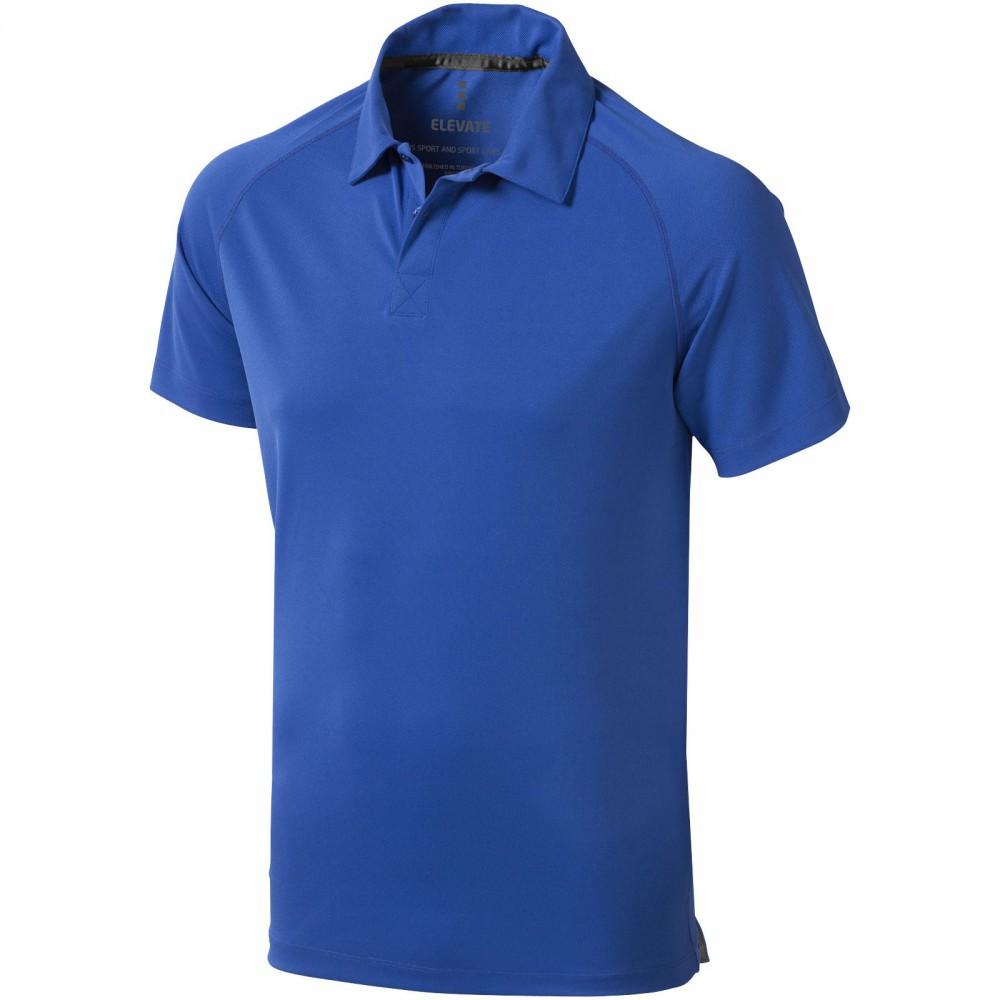 644d8e1387 Elevate Ottawa galléros férfi póló, kék (Galléros póló, kevertszálas,  műszálas)
