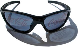 Szemüveg logóval