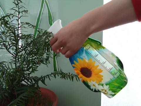 Viráglocsoló, permetező