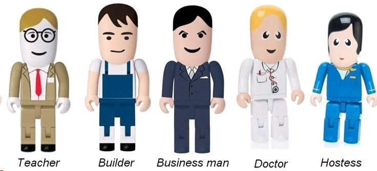 USB figurák