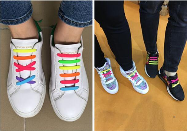 Szilikon cipőfűzők