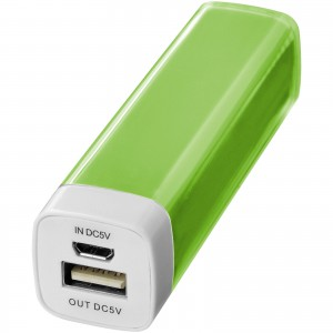 Flash powerbank, 2200 mAh, lime (12357103)