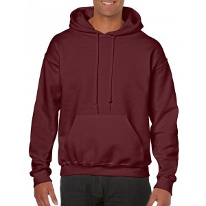 Gildan Heavy Blend kapucnis pulóver, Maroon