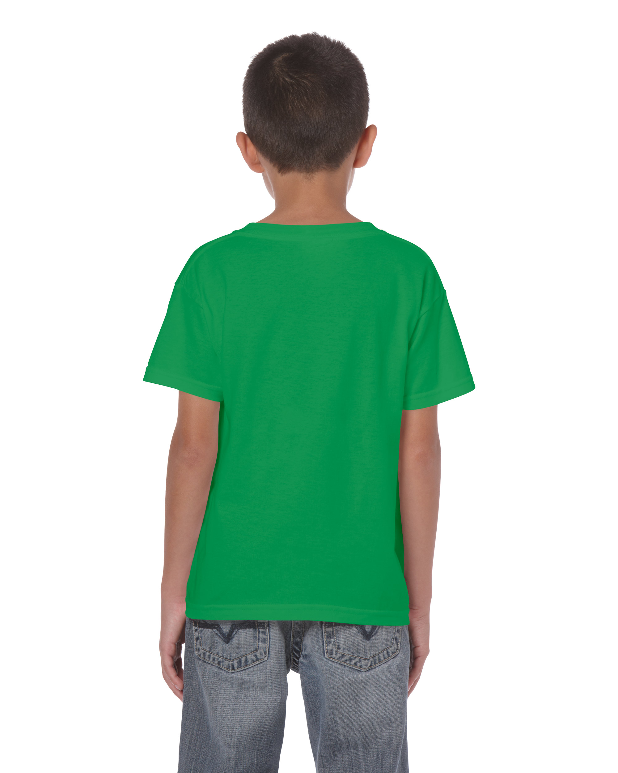 Gildan Heavy Gyerekp L Irish Green Xs P L T Shirt