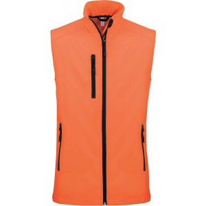 Kariban Női softshell mellény, Fluorescent Orange (KA404FOR)