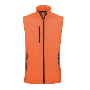 Kariban Softshell mellény, Fluorescent Orange (KA403FOR)