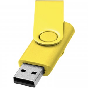 Rotate Metalic pendrive,sárga, 2GB (12350706)