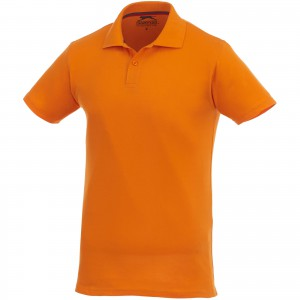 Slazenger Advantage pamut piképóló, orange (3309833)