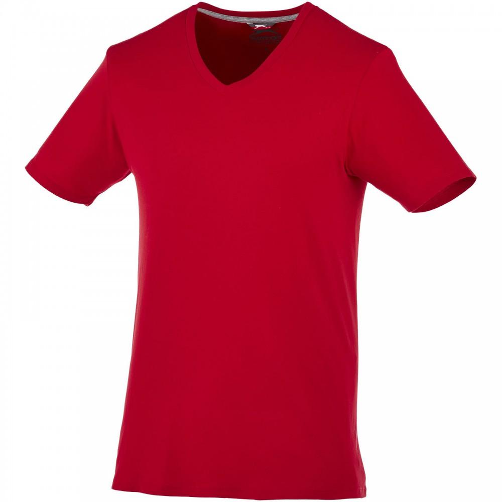 ef7ed549a4 Slazenger Bosey V-nyakú póló, dark red, 3XL (T-shirt, póló, 90-100 ...