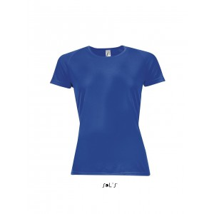 Sols Sporty raglánujjas női póló, Royal Blue (SO01159RO)