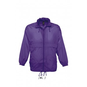 Sols Surf uniszex széldzseki, Dark Purple (SO32000DPU)